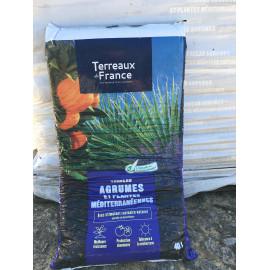 Sac de terreau agrumes et plantes méditerranéenne 40L
